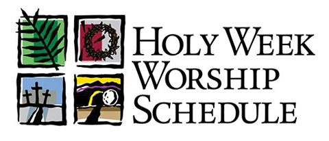 holy week schedule blog 5