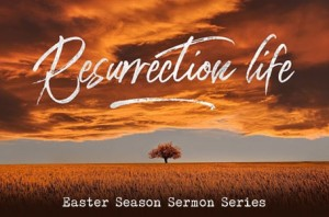resurrection sermon series post